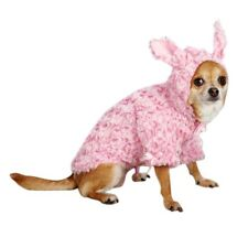 Bunny Dog  Coat Pink  XS S M L - Chihuahua Puppy Pet Coat Clothes Jacket Jumper