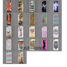 for Apple iPod Touch 5 Fashion Multi Styles Back Protector Skin Case Cover NEW