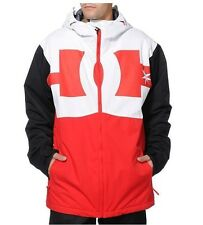 2014 NWT DC BILLBOARD SNOWBOARD JACKET $170 chinese red black white pants
