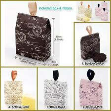 Gift box / Gift bag : Small 10 sets(boxes, ribbon) of gift bag, wedding gift bag