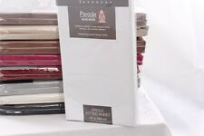 Luxury Percale Fitted, Flat, Valance Bed Sheets Single Double King Super King