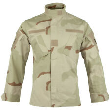 TEESAR ACU RIPSTOP TACTICAL COMBAT UNIFORM MENS SHIRT TOP 3-COLOUR DESERT CAMO