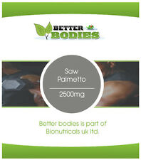 High Strength Saw Palmetto 2500mg HPMC Capsules FREE Delivery