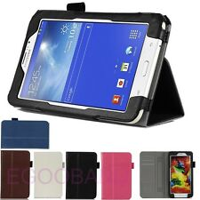 High Quality Card Wallet Leather Case Cover For Samsung Galaxy tab 3 Lite 7 T110