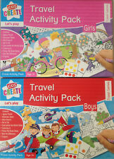 Kids Travel Activity  Pack Boys or Girl Best for Holiday Travel Games Puzzle toy