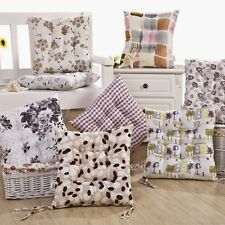 Floral Seat Thickened Home House Soft Chair Ground Cushion Mat Pad Warm Tie New
