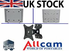 """Allcam TV Wall Mounting Brackets for 15"""" to 30"""" LED / LCD / TV's & Monitors. New"""