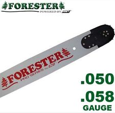 """Forester Professional Chainsaw Bar 24"""" 5-Rivet for Husqvarna Fits Large Mount"""