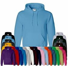 New Gildan Plain Cotton Heavy Blend Hoodie Blank Pullover Sweatshirt Hoody