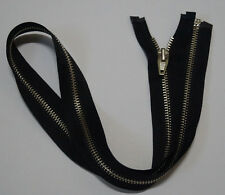 Metal Open End  black zipper #5,Zips,Zipper,#3 Slider(10Inch~30Inch)