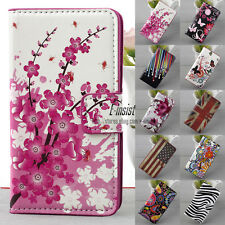 Folding Wallet Card Hold Stand Flip Leather Phone Case  For HUAWEI ASCEND Y300