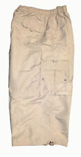 MENS 2 in 1 CASUAL CARGO ZIP OFF 3/4  SHORTS ALL SIZES  NEW STYLE M L XL XXL 3XL