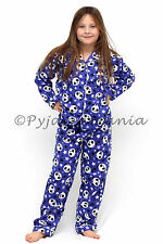 Girls Winter Cotton Flannel 2pc Pyjamas Pjs Purple Panda & Stars sz 3 4 5 6 7