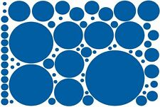 69 POLKA DOT VINYL WALL DECAL STICKERS! Wall Decal Wall Sticker Vinyl Wall Art