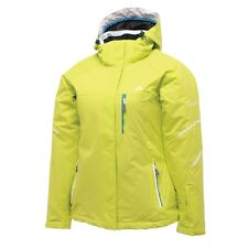 WOMENS DARE 2B VITALISED LIME WATERPROOF AND BREATHABLE SKI AND WINTER JACKET