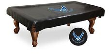 Air Force Military Black Pool Table Cover by HBS