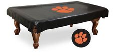 Clemson Tigers Black Pool Table Cover by HBS