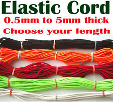 Elastic Cord Jewellery thread string beads bracelet Hobby Craft Sewing Tag Label