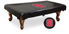 NC State Wolfpack Black Pool Table Cover by HBS