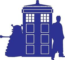 Doctor Who Tardis Car Window Vinyl Decal Sticker BUY2 GET 2 FREE #2