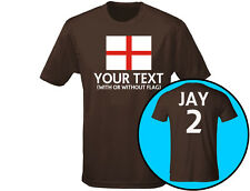 England Your Text Personalised Mens T-Shirt (12 Colours)