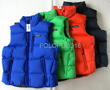New Ralph Lauren RLX Down Puffer Ski Vest Jacket Polo Multi Sizes