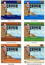 ORGANIC CLIF CRUNCH GRANOLA BARS 10 BARS PROTEIN CLIFF - PICK VARIETY FLAVORS