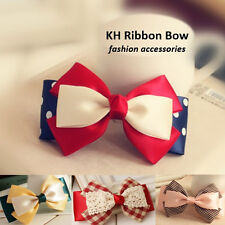 SALES!! Toddlers Girls Hair Accessories Hair Clip Ribbon Bow - 10 STYLES