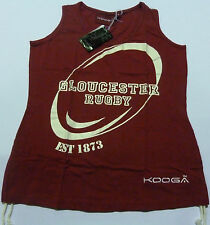 KOOGA GLOUCESTER LADIES SUPPORTERS RUGBY TANK TOP