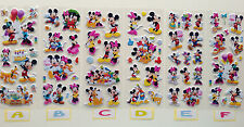 Character Fun Puffy 3D Cartoon Disney Mickey Mouse Stickers Kid Craft Gift Party