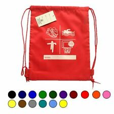 Premium Draw String Printed P.E. Bag available in 16 Colour
