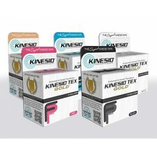 "KINESIO TEX GOLD FP TAPE 2"" x 5 1/2yds KINESIOLOGY SPORTS TAPE ALL COLORS 2 pack"