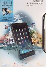 "Authentic Lifeproof Nuud Screenless Case iPad Mini 5.5"" Retina Display 2305-01"