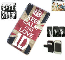 1D One Direction Niall leather card wallet flip phone case for Samsung Galaxy S3