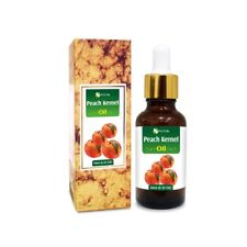 PEACH KERNEL OIL 100% NATURAL PURE UNDILUTED UNCUT CARRIER OIL 5ML TO 100ML