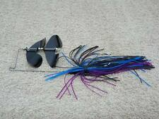 McBASSIN CUSTOM LURES COUNTER-STRIKE PRO BUZZBAIT - MIDNIGHT