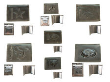 NFL Black Leather Wallets Official Licensed Pick your Team wallet 041842