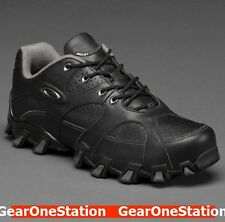 New Oakley Teeth 2 Men's Size 7 Black Leather Shoes  $160