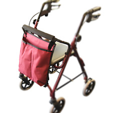 ROLLATOR BAG STORAGE BAG FOR 4 WHEELED WALKERS DISABILITY AND MOBILITY AIDS