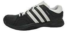ADIDAS 'Ambition VII Strip' Men's Black/White/Silver Lace Up Tennis Trainers.