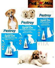 Flea & Tick Spot On Pestroy Flea & Tick Spot On For Puppies Dog Cat & Kitten