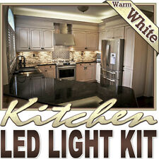Warm White Kitchen Microwave LED Backlight Night Light On/Off Switch Control Kit