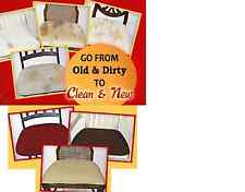 EZ CHAIR COVERS ,DINING ROOM CHAIR COVERS, PACK OF 6 OR 4 COVERS!!PRICE DROP!!