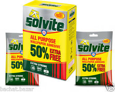 Solvite Extra Strong All Purpose Wallpaper Adhesive - wallpaper glue
