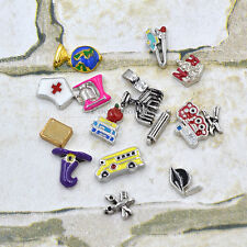 New  MINI Floating Charms Skill Symbol for Glass Living Memory Lockets 1 piece