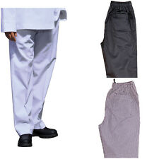NEW MENS CHEFS CHEF COOK KITCHEN UNISEX WAITER TROUSERS CATERING MEN'S PANTS