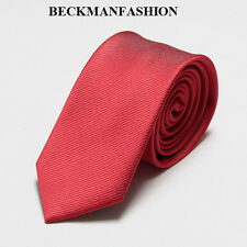 145cm men slim skinny tie neck tie silk necktie solid wedding party tie necktie