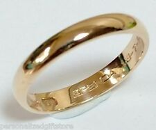 Personalized Gold IP Promise Rings / Name Rings / Free Engraving Inside or Out