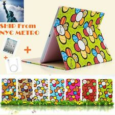 New Sun Flower Pattern Fashion Leather Case Cover Skin For Apple iPad Mini 1 & 2