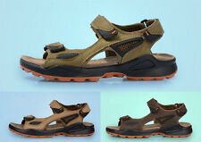 Mens Outdoor Trail Sport Sandals open toe casual colors breathable velcro shoes